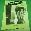 DOO WOP (THAT THING) Original Piano/Vocal/Guitar Sheet Music LAURYN HILL © 1998