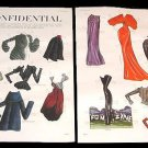 L.A. CONFIDENTIAL Magazine Paper Dolls 2 BIG PAGES
