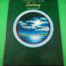 SAILING Original Sheet Music CHRISTOPHER CROSS © 1980