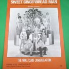 SWEET GINGERBREAD MAN Piano/Vocal Sheet Music THE MIKE CURB CONGREGATION © 1970