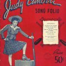 Scatterbrain JUDY CANOVA Song Folio For Voice Piano Guitar 1944 w/ 13 Pinups