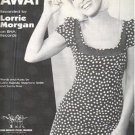 GO AWAY Piano/Vocal/Guitar Sheet Music LORRIE MORGAN © 1996 Cover Photo