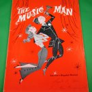 THE MUSIC MAN Souvenir Programs QUEEN ELIZABETH THEATRE Vancouver FORREST TUCKER