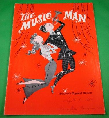 THE MUSIC MAN Souvenir Programs QUEEN ELIZABETH THEATRE Vancouver FORREST TUCKER