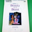 BEAUTY & THE BEAST Easy Electronic Keyboard Song Book WALT DISNEY © 1992