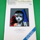 LES MISÉRABLES Easy Electronic Keyboard Song Book © 1991 OLD STORE STOCK