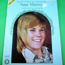 ANNE MURRAY Piano/Vocal/Guitar Song Book ca 1971 Words Music SOUVENIR PHOTOS