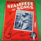THE CALGARY KID'S STAMPEDE OF SONGS Folio #2 Original Song Book 17 Songs © 1945
