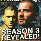 PRISON BREAK OFFICIAL 2007 YEARBOOK #6 October/November 2007 Season 3 Revealed!