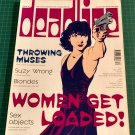 DEADLINE COMICS MAGAZINE Issue 70 August/September 1995 Women Get Loaded!