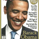 ROLLING STONE BARACK OBAMA 2009 COMMEMORATIVE EDITION 140 Pages Historic Photos