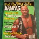 RAMPAGE Wrestling Magazine STONE COLD AUSTIN Kimberly Page POSTERS Sealed Copy!