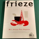 FRIEZE Contemporary Art & Culture Magazine Issue #119 November/December 2008
