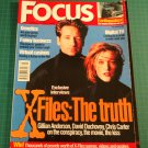 FOCUS MAGAZINE British Issue July 1998 X-FILES INTERVIEWS Gillian David & Chris