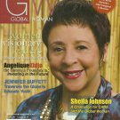 GLOBAL WOMAN MAGAZINE Premiere Issue 2009 SHEILA JOHNSON Angelique Kidjo