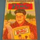 THE RING Boxing Magazine January 1953 JIMMY CARRUTHERS Rex Layne ROCKY MARCIANO