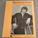 STOP AND SMELL THE ROSES Piano Guitar Vocal Sheet Music MAC DAVIS Doc Severinsen