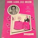LAROO, LAROO, LILLI BOLERO Sheet Music FRANKIE CARLE © 1948