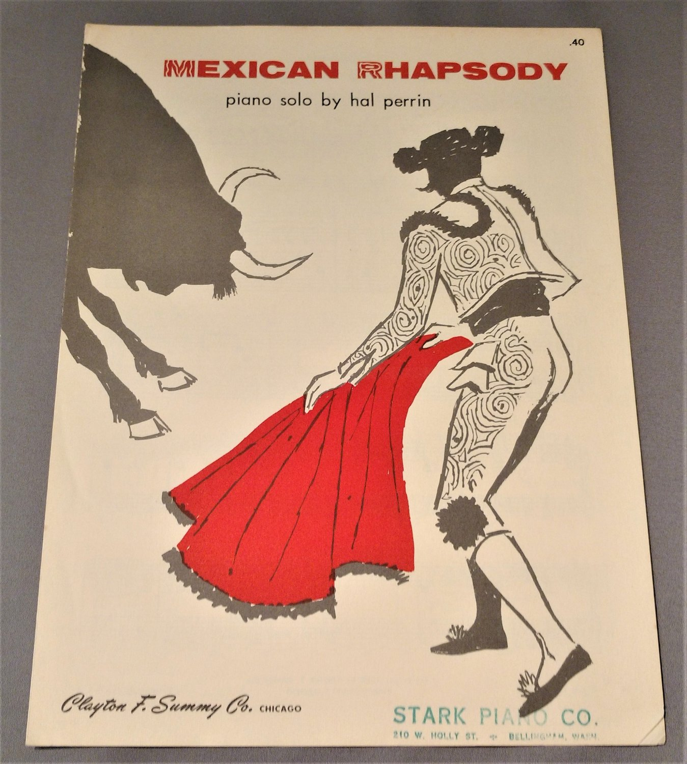 MEXICAN RHAPSODY Piano Solo by Hal Perrin © 1955