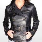 Womens Blazer Style Leather Jacket Style 17F