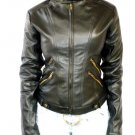 NWT Women's Retro Evolution Leather Jacket Style 50F