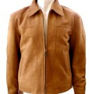 NWT Men's Bomber Sheep Snuff Leather Jacket Style M804