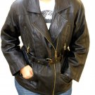 NWT Women's Motorbike Leather jacket Style 23F