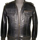 NWT Men's Bomber Leather Jacket Style M807