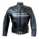 Men's Motor Bike Leather Jacket Style MD-108