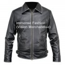 NWT Men's Casual Cruiser Leather Jacket Style MD-84