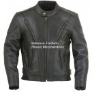 Men's Easy Rider Biker Leather Jacket Style MD-68