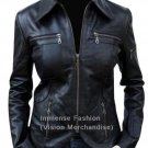 NWT Women's Bomber Leather Jacket Style FS-82