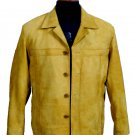 NWT Men's Blazer Sheep Skin Snuff Leather Style M68 size XL $120 + shipping or your best offer