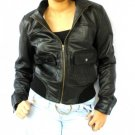 NWT Women's Bomber Style Leather Jacket Style 2100 size Small $120 + shipping or best offer