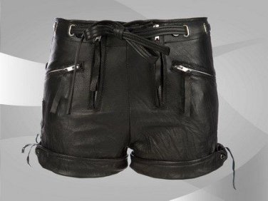 NWT Ladies Leather Shorts Style WS18