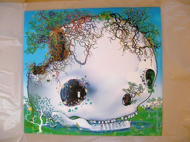 """Chiho Aoshima """"The Fountain of the Skull"""""""