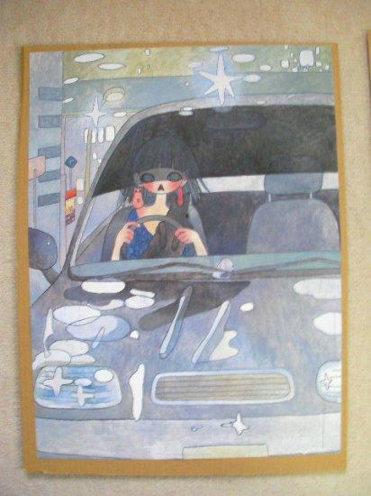 "Aya Takano ""DRIVE WITH A NIGHT DOG"""