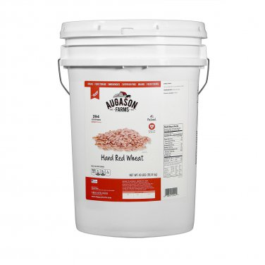 Augason Farms Hard Red Wheat (40 lb. pail)