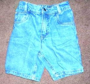 Boys Denim Jeans Shorts 4T Billy The Kid