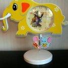 Child Nursery Elephant Shaped Clock Winnie The Pooh NIB