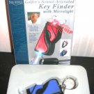 Blue Sound Activated Key Finder with Microlight Golf Bag
