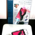 Red Sound Activated Key Finder with Microlight Golf Bag