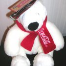 Polar Bear Coca Cola Coke Boyds Plush Stuffed New