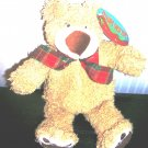 Treasure Chest Toys Tan Bear Plush Stuffed New