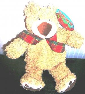 Treasure Chest Toys Tan Bear Plush Stuffed New