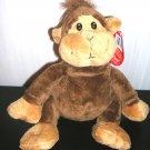 Fiesta Monkey Floppy Jungle Plush Stuffed New