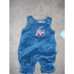 Small Wonders Train One Piece Boys 0-3 months NWT