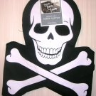 Halloween Skull Crossbones Table Runner NWT