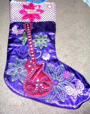 Christmas Stocking Hannah Montana Musical NWT