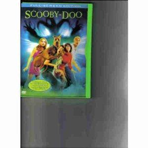 Scooby Doo Full Screen DVD